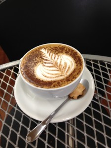 Origin Coffee fern art