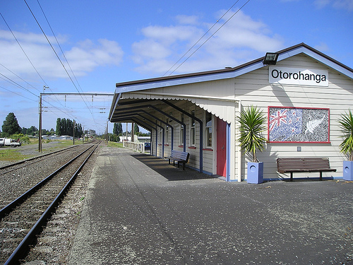 Origin runs from a functional train station
